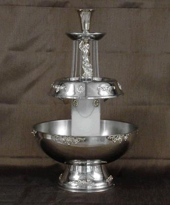 Where to find FOUNTAIN SILVER 5 GAL W CHERUB in Tacoma