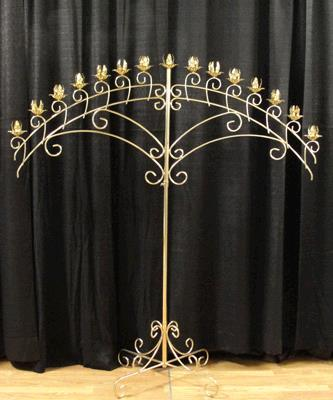 Where to find CANDELABRA 15LITE BRASS ARCH in Tacoma
