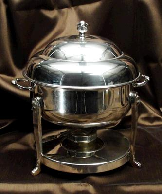 Where to find CHAFING DISH SLVR 8QT ROUND in Tacoma