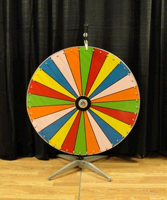 Where to find PRIZE WHEEL 36 in Tacoma
