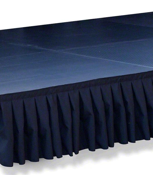 Where to find STAGE SKIRTING 12  X 08  BLACK in Tacoma