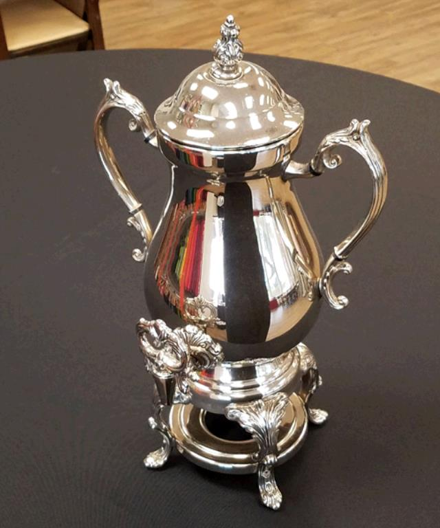 Where to find COFFEE URN 25 CUP SILVER in Tacoma