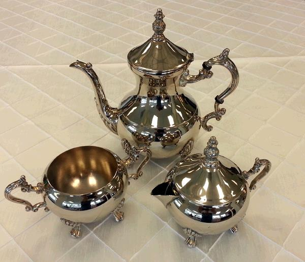 Where to find SILVER TEA SERVICE 4 PC in Tacoma