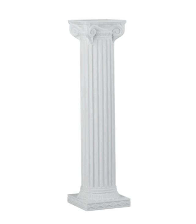 Where to find COLUMN 40  WHITE SQUARE W SCROLL TOP in Tacoma