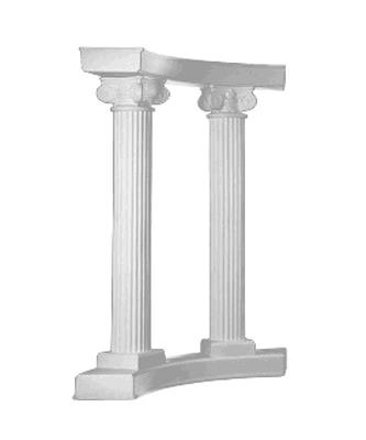 Where to find COLONNADE WHITE ROMAN 4 PC in Tacoma
