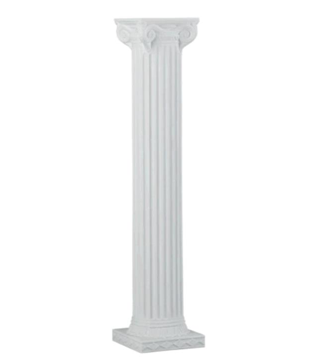 Where to find COLUMN 72  WHITE SQUARE W SCROLL TOP in Tacoma