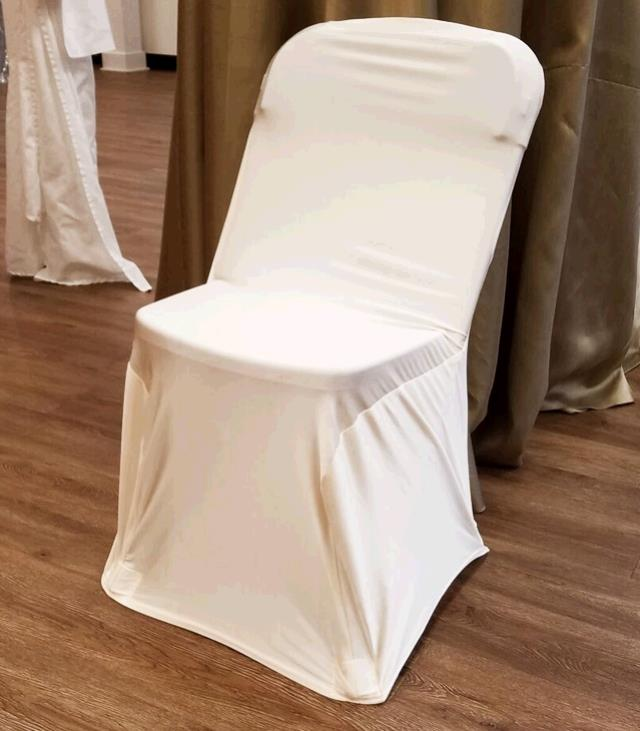 Where to find CHAIR COVER SPANDEX WHITE in Tacoma