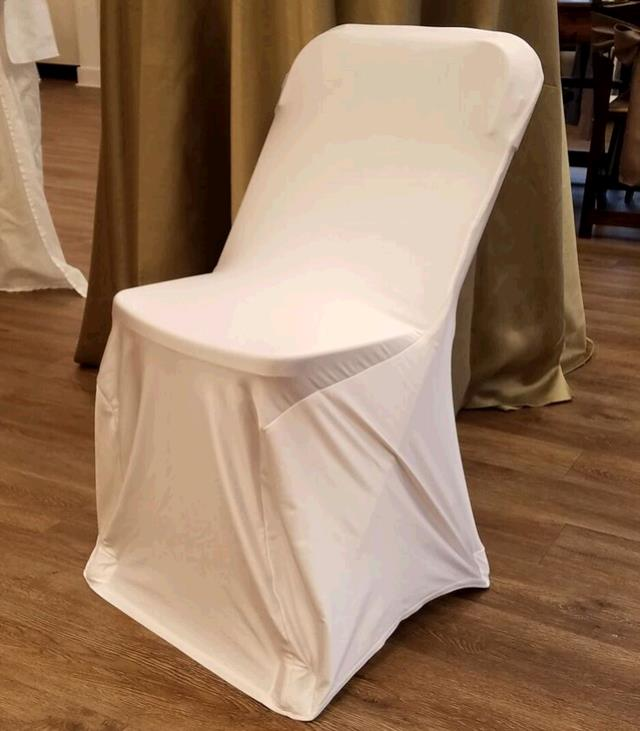 Where to find CHAIR COVER SPANDEX IVORY in Tacoma