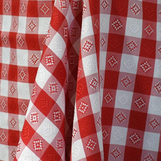 Where to find POLY LINENS - RED GINGHAM in Tacoma