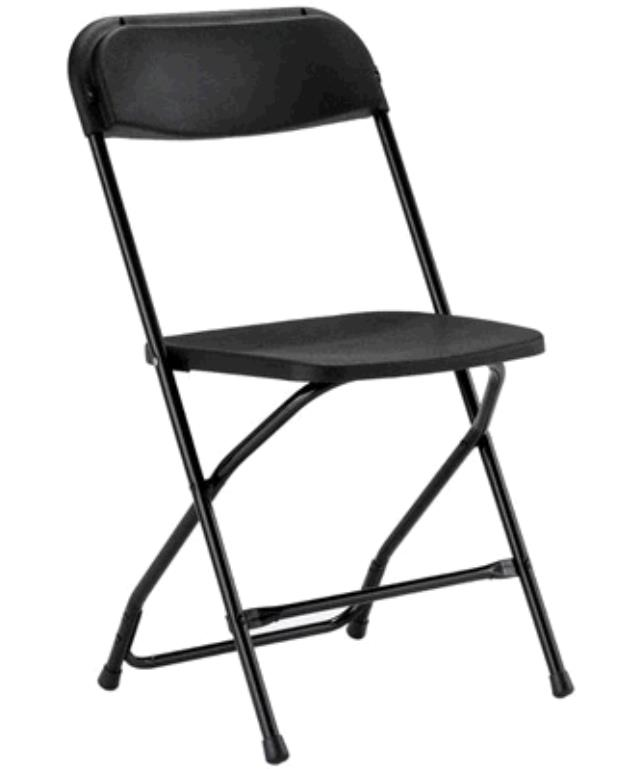 Where to find CHAIR FOLDING BLACK BLACK in Tacoma