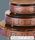 Rental store for CAKE STAND COPPER WOOD 15  RND in Tacoma WA