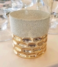 Rental store for GOLD TEXTURED VOTIVE in Tacoma WA