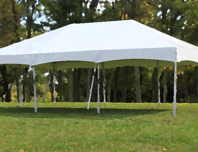 Frame Tent 10 Foot X 40 Fiesta