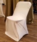 Rental store for CHAIR COVER SPANDEX OFF-WHITE in Tacoma WA