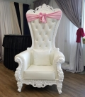 Rental store for SWEETHEART THRONE CHAIR in Tacoma WA