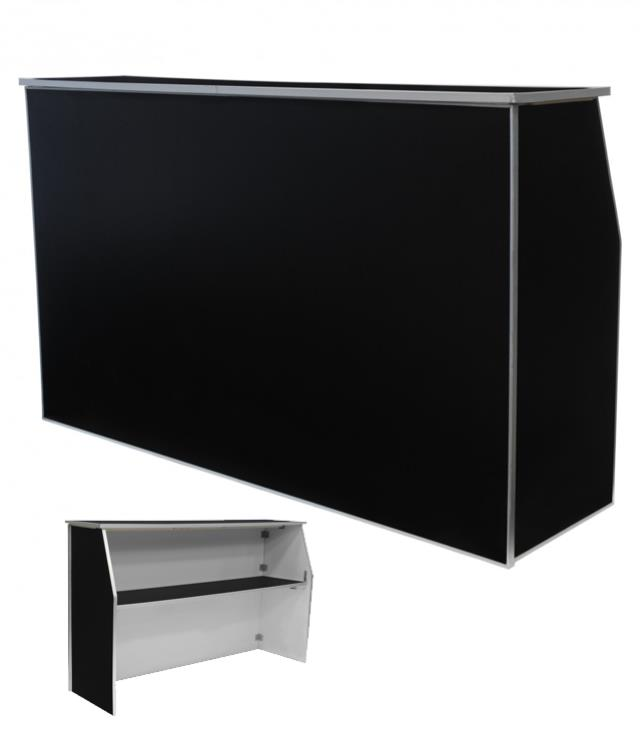 Where to find BAR PORTABLE 6 FT. BLACK SOLID in Tacoma