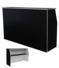 Rental store for BAR PORTABLE 6 FT. BLACK SOLID in Tacoma WA