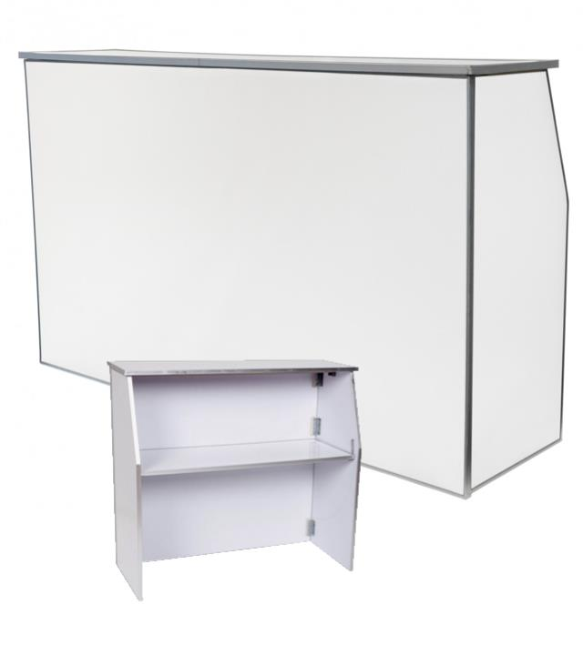 Where to find BAR PORTABLE 6 FT. WHITE SOLID in Tacoma