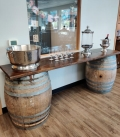 Rental store for BAR PORTABLE 8 FT. WINE BARREL in Tacoma WA