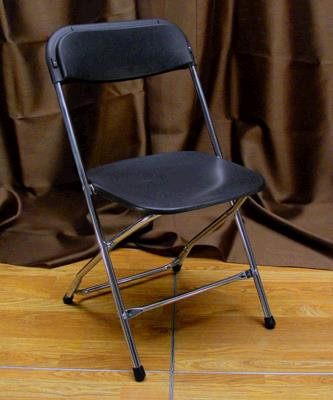 Where to find CHAIR FOLDING BLACK CHROME in Tacoma